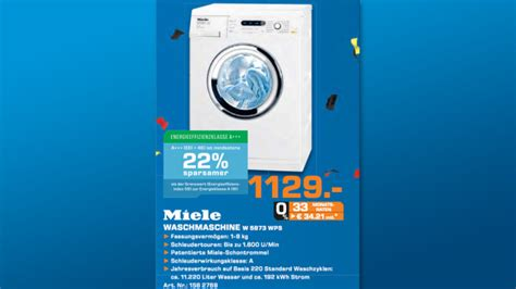 Miele Waschmaschine W 5873 Wps 2608 by Saturn Prospekt Zum 25 Juni Bilder Screenshots