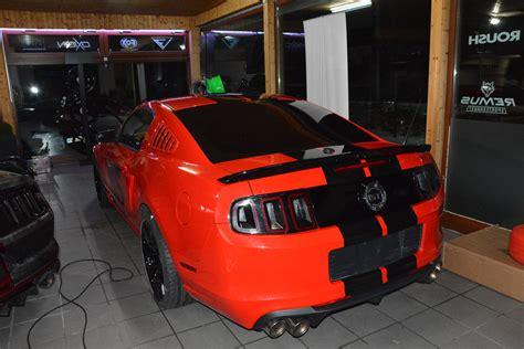 Autofolierung Singen by Ford Mustang Streifen Dfc Folienwerk Singen Gottmadingen