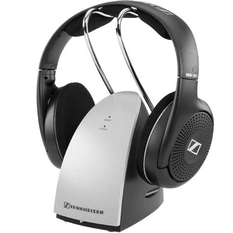 Headphone Headset Stereo Sennheiser sennheiser rs 120 ii audio headphones stereo wireless ideal for modern tv lightweight