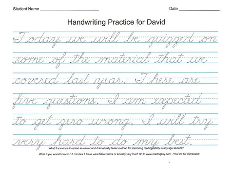 worksheet cursive writing practice sentences wosenly