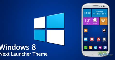 themes launcher 8 next launcher theme windows 8 v1 0 apk free download