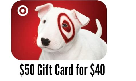 Target Gift Card Groupon - groupon deal 50 target gift card for 40 southern savers