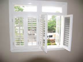 Plantation Shades Security Plantation Shutters