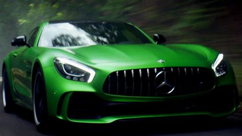 green mercedes the mercedes amg gt r is loose but as lewis hamilton