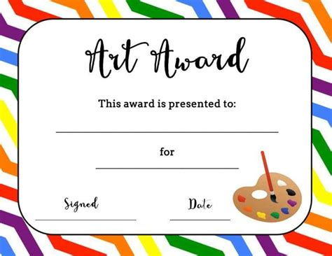free templates for awards for students free printable award certificates for elementary students