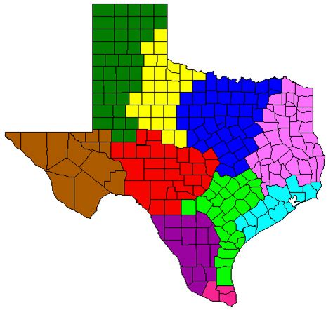 texas agriculture map usda national agricultural statistics service texas charts and maps climate divisions map
