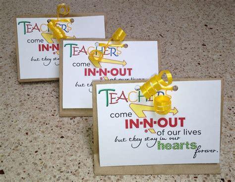Teacher Gift Card Ideas Pinterest - 278 best images about teacher gifts teacher appreciation ideas on pinterest