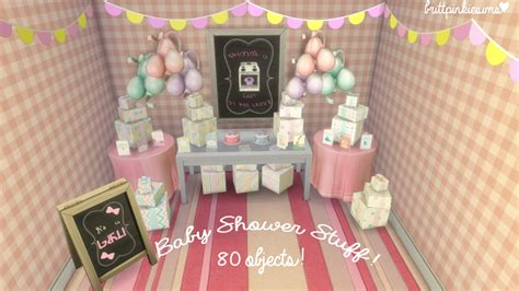 Sims 3 Baby Shower by Sims 4 Baby Shower Set By Brittpinkiesims