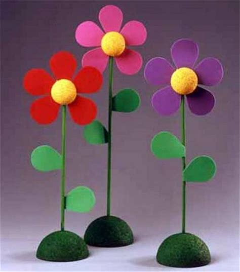 crafts flower diy foam flower craft from joann s day with