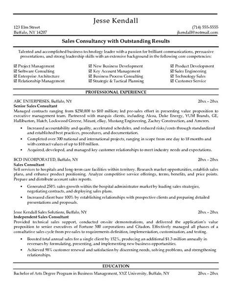 technical consultant resume sle technical sales resume sales technical lewesmr