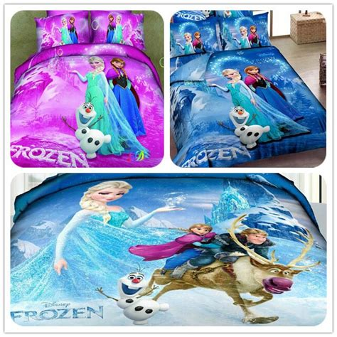 frozen queen comforter set frozen bedding elsa anna bedding for girls 100 cotton