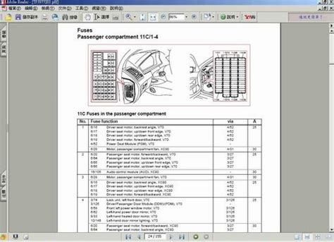 2001 volvo s80 relay location 2001 free engine image for