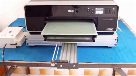 Printer Dtg R2000 integration test epson r3000 portable ufoprinter base diy