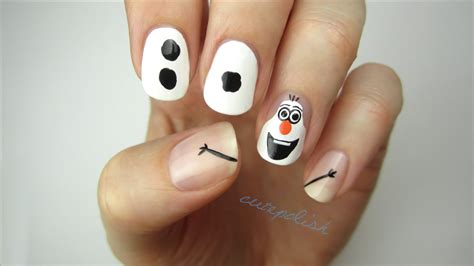 frozen nail art tutorial video learn how to create an awesome disney s frozen inspired