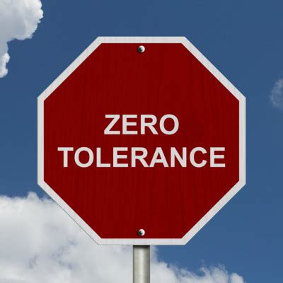 zero telorance zero tolerance policies the basics children and the