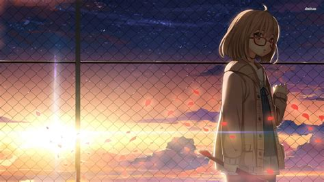 beyond the boundary mirai kuriyama beyond the boundary wallpaper