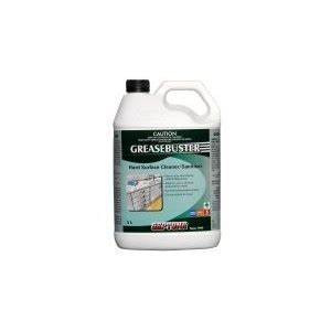 greasebuster 5l surface cleaner sanitiser septone