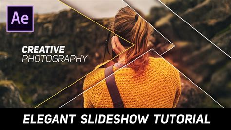 tutorial slide type effect after effects tutorial elegant and clean slideshow
