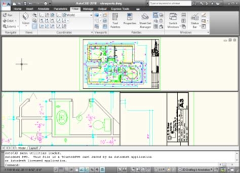 autocad layout viewport layers autocad viewport