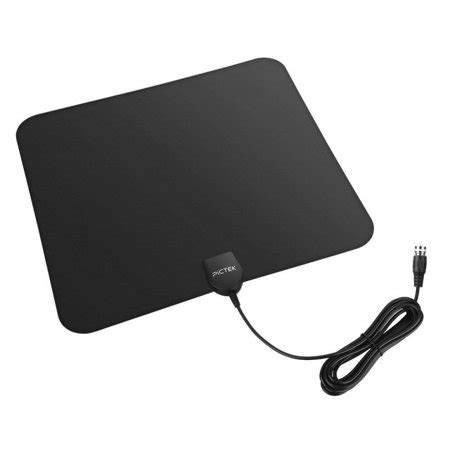 pictek hdtv antenna indoor digital tv antenna miles