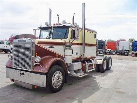 used semi trucks freightliner cabover pictures used 1980 freightliner
