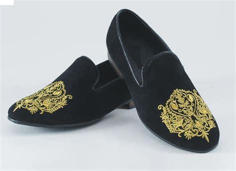 Mens Shoes Handmade - mens velvet shoes handmade embroidered velvet casual
