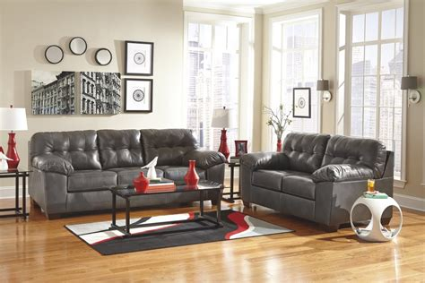 grey sofa living room design