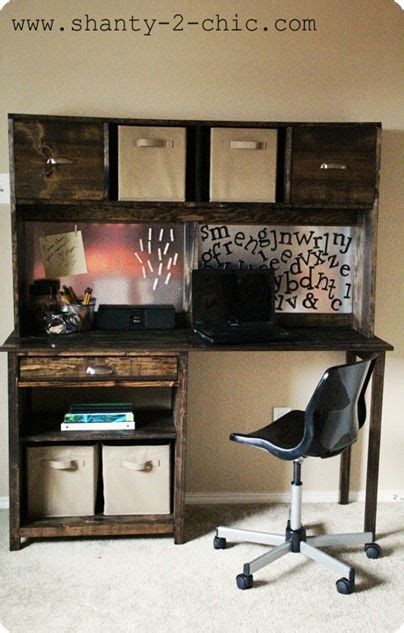 Diy Student Desk Student Desk With Hutch Woodworking Projects Plans
