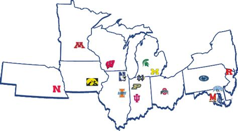 big ten map why illinois magnet for country s brightest minds