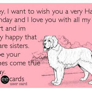 birthday wishes for sister funny clipartsgram com