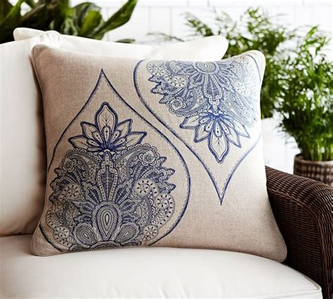 Pottery Barn Button Pillow by Cassidy Medallion Pillow Cover Pottery Barn