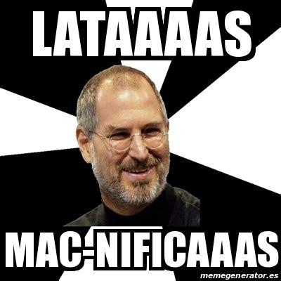 Meme Generator Mac - meme steve jobs lataaaas mac nificaaas 18199820