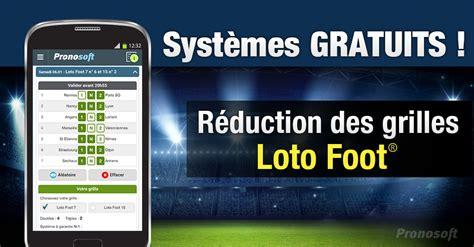 loto foot 7 et 15 prochaines grilles aide pour utiliser les syst 232 mes r 233 duits pour le loto foot