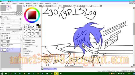 tutorial mewarnai dengan paint tool sai cara mewarnai anime di paint tool sai mudah untuk pemula