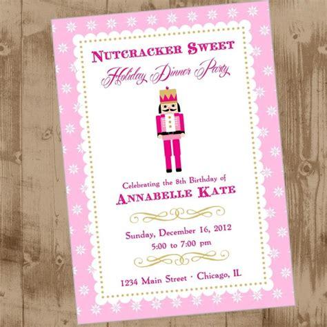 printable nutcracker invitations nutcracker