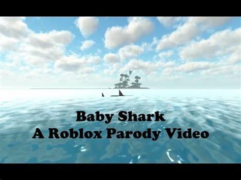 baby shark parody baby shark a roblox parody video youtube