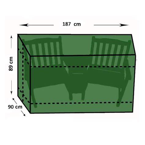companion bench greenfingers companion seat cover l187 x w90 x h89cm on sale