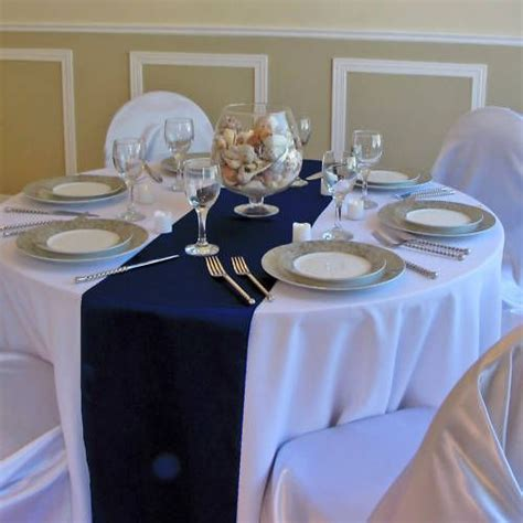 Navy Blue Table Runners Wedding by Best 25 Navy Blue Table Runner Ideas On Navy