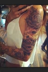1000 ideas about rose sleeve tattoos on pinterest rose sleeve