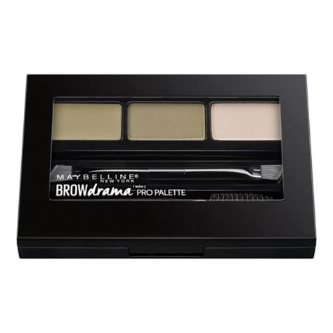 Maybelline Eyebrow Kit maybelline new york brow drama brow pro palette walmart ca