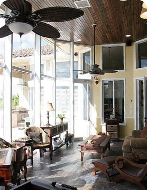 sunroom ideas ceiling and fans for the home pinterest