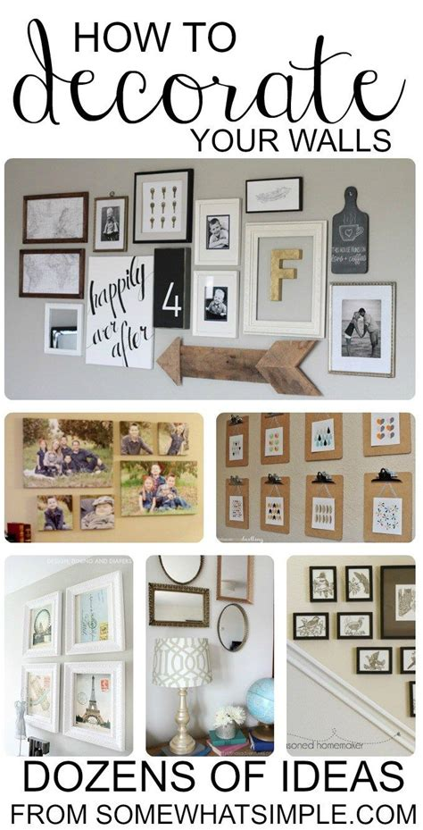 how to decor your home best 25 family collage walls ideas on pinterest family