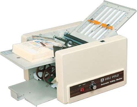 A4 Paper Folding Machine - dynafold de 262af paper folding machine folding speed