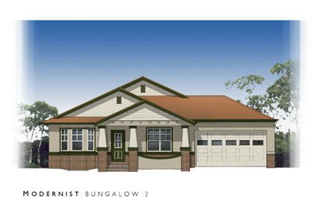 Bungalow Style House Plans facades red bluff homes