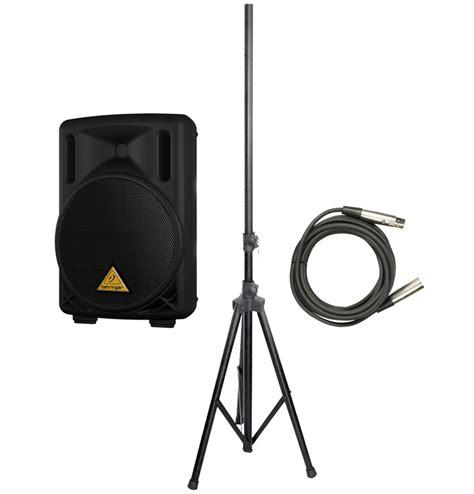 Tripod Xlr new behringer b215d pro audio dj active 550 watt 2 way 15