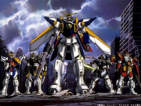 Wing Gundam anime classic shin kido senki gundam wing