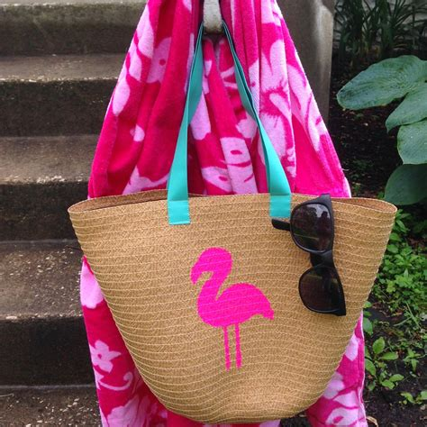 Pouch Tropical Vibes Flamingo Handmade By Kravitavi Diskon 15 epic target dollar bin crafts that only look expensive