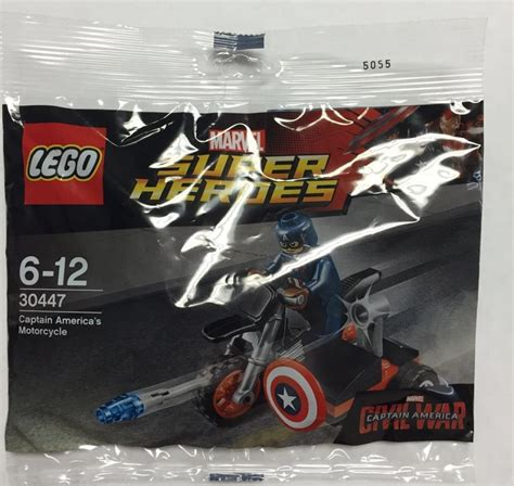 Lego 30447 Captain Amerika lego 30447 captain america s motorcycle polybag build found in the minifigure price