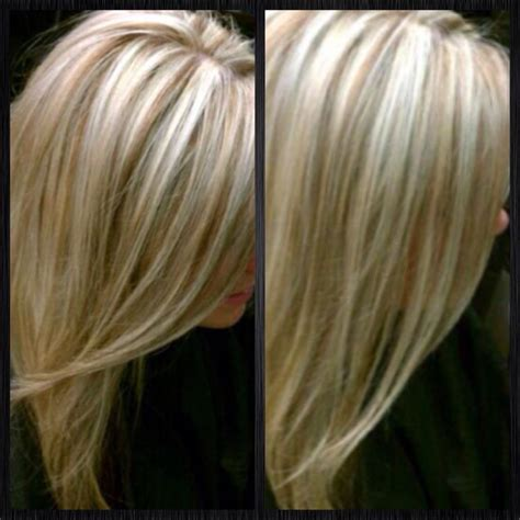 pics of platinum blonde highlights platinum blonde with lowlights for fall your fall color