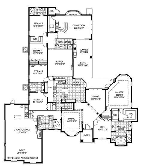 5 bedroom 1 house plans mediterranean style house plan 5 beds 4 5 baths 4378 sq